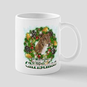 Merry Christmas Greyhound Mug