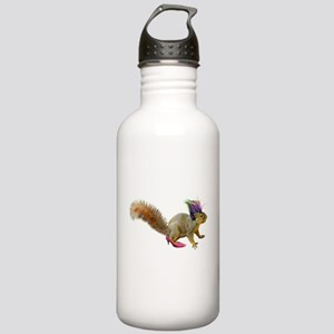 Dress-up Squirrel Stainless Water Bottle 1.0L