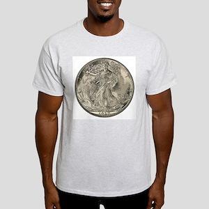 Walker Double-Sided Ash Grey T-Shirt