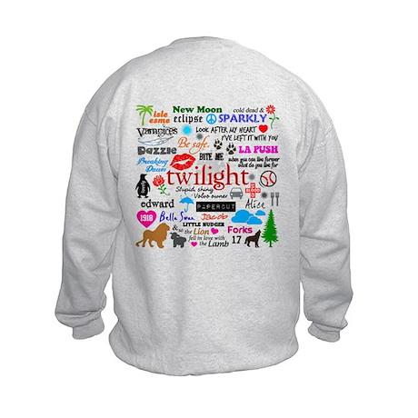 Twilight Memories Kids Sweatshirt