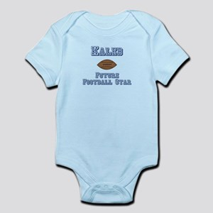 Kaleb - Future Football Star Infant Bodysuit