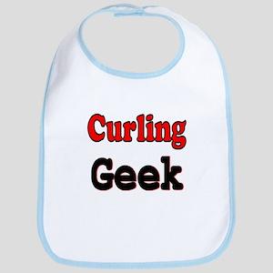Curling Geek Bib