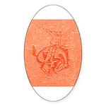 Bronco Sticker (Oval 50 pk)
