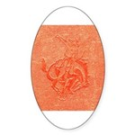 Bronco Sticker (Oval)