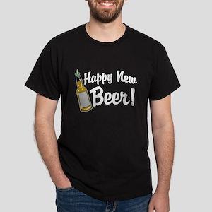 Happy New Beer! Dark T-Shirt