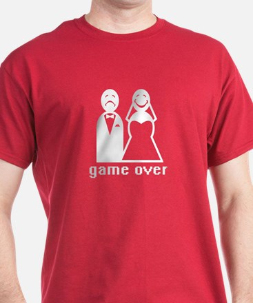 Game Over Groom - T-Shirt