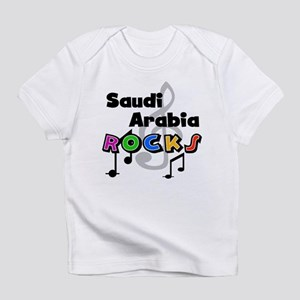 Saudi Arabia Rocks Infant T-Shirt
