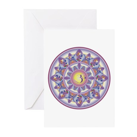 OM AUM Greeting Cards (Pk of 10)