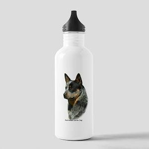 Australian Cattle Dog 9F061D-06 Stainless Water Bo