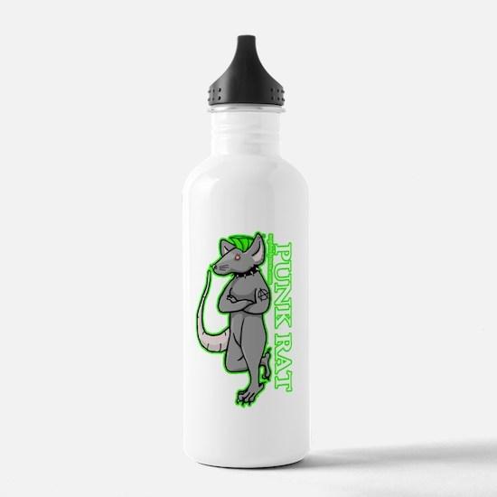 Punk Rat Water Bottle