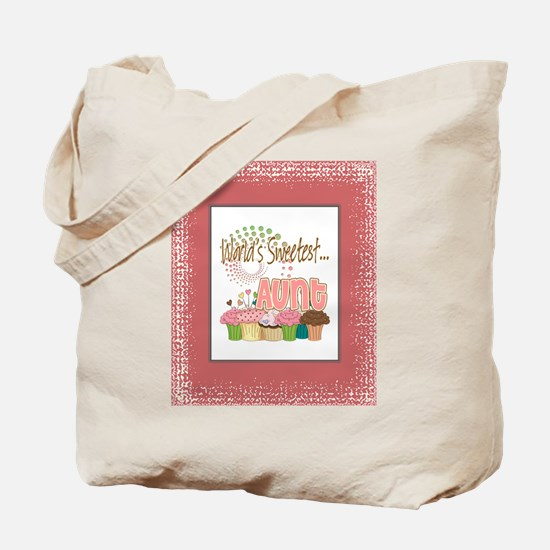 Sweetest Aunt Tote Bag
