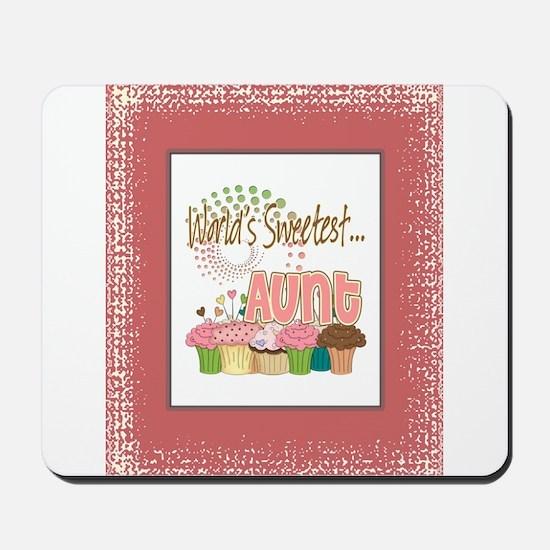 Sweetest Aunt Mousepad
