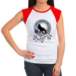 Rutherford Clan Badge Women's Cap Sleeve T-Shirt