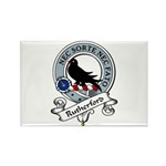 Rutherford Clan Badge Rectangle Magnet (10 pack)