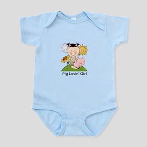 Pig Lovin' Girl Infant Bodysuit