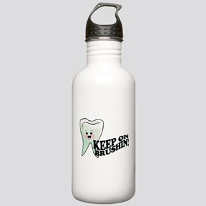 Keep On Brushing Stainless Water Bottle 1.0L