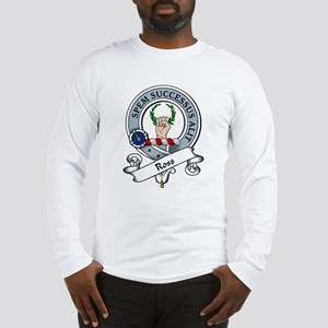 Ross Clan Badge Long Sleeve T-Shirt