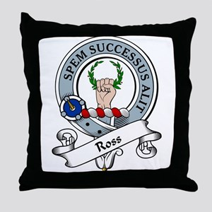Ross Clan Badge Throw Pillow