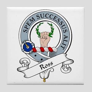 Ross Clan Badge Tile Coaster