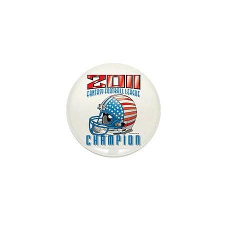 2011 FFL Champion Helmet Mini Button (10 pack)