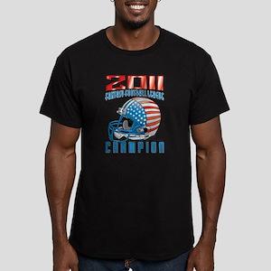 2011 FFL Champion Helmet Men's Fitted T-Shirt (dar