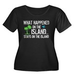 Happened on Island Women's Plus Size Scoop Neck Da