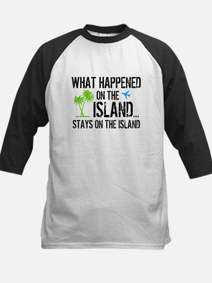Happened on Island Kids Baseball Jersey