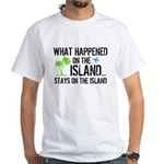 Happened on Island White T-Shirt
