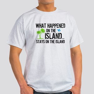 Happened on Island Light T-Shirt