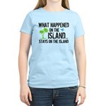 Happened on Island Women's Light T-Shirt