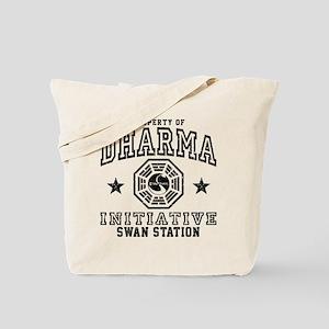 Dharma Swan Tote Bag
