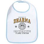 Dharma Flame Station Bib