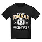 Dharma Flame Station Kids Dark T-Shirt