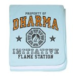 Dharma Flame Station baby blanket