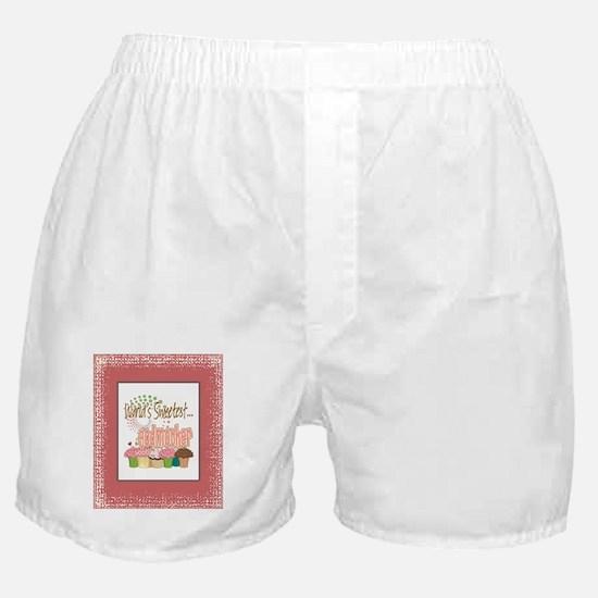 Sweetest Godmother Boxer Shorts
