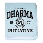 Dharma Initiative baby blanket