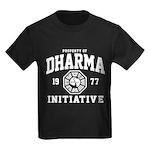 Dharma Initiative Kids Dark T-Shirt