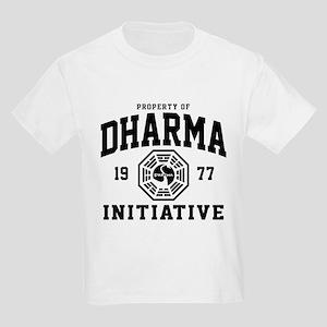 Dharma Initiative Kids Light T-Shirt