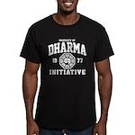 Dharma Initiative Men's Fitted T-Shirt (dark)