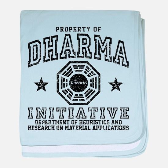 Dharma Property baby blanket