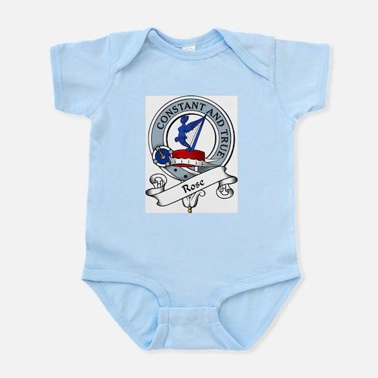 Rose Clan Badge Infant Creeper