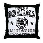 Dharma Property Throw Pillow