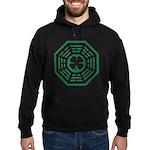 Dharma Luck Green Hoodie (dark)