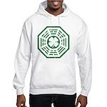 Dharma Luck Green Hooded Sweatshirt