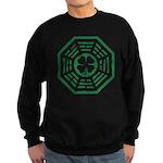 Dharma Luck Green Sweatshirt (dark)