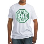Dharma Luck Green Fitted T-Shirt
