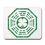 Dharma Luck Green Mousepad