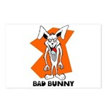 Bad Bunny Postcards (Package of 8)