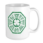 Dharma Luck Green Large Mug