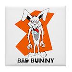 Bad Bunny Tile Coaster